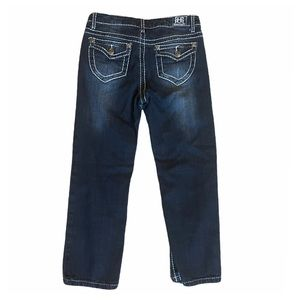 Request Jeans (14) straight leg, distressed - NWOT